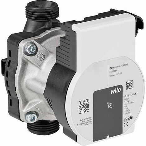 Circulateur de rechange Wilo Para 15/8-PWM DN15 (1/2) longueur 130mm, 230 V