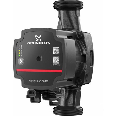 Circulateur GRUNDFOS Alpha1 l 25 - 60 130 1 x 230V 50 Hz 6 H Ref 99160583