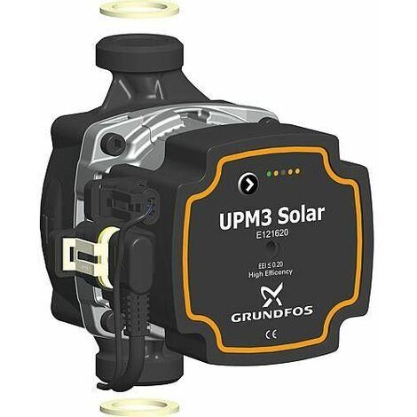 Circulateur Grundfos UPM3 15-145,longueur 130mm solaire DN25 (1)male, 9 heures,PWM-C4