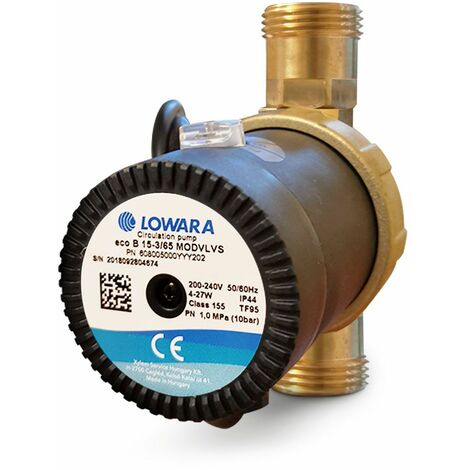 Circulateur lowara ecocirc PRO pour recirculation eau chaude sanitaire 15-3/65