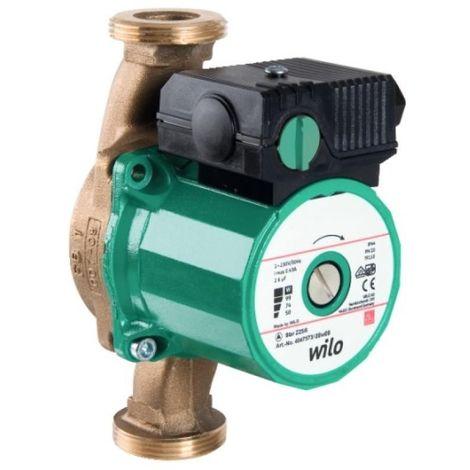 """Circulateur pour eau chaude sanitaire Star-Z 20/1(15-130) - Entraxe 130 mm - Mâle / Mâle - 1 - Wilo"""""""