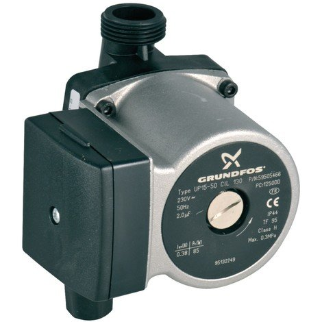 Circulateur UP15-50 130 3H+compo DTG 1205V ECONOX Réf. 95132249