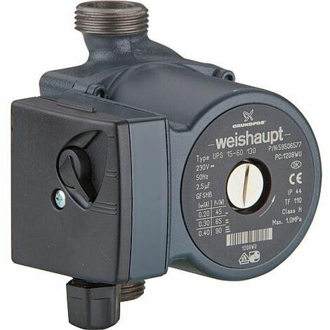 Circulateur UPS 15-60 130 mm Weishaupt 601 625