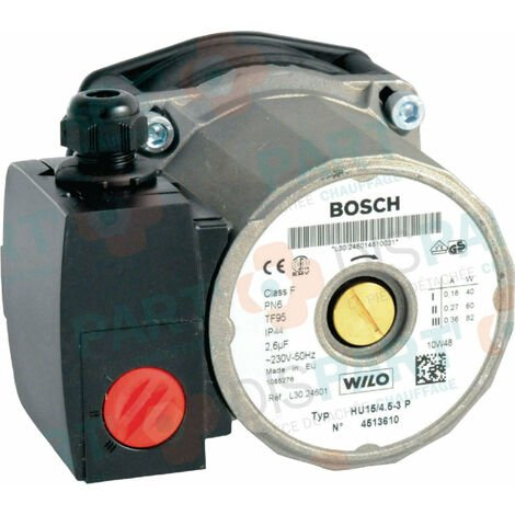 Circulateur WILO HU15/4,5 , BOSCH THERMOTECHNOLOGIE, Ref. 87168246010