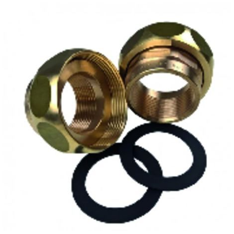 Circulator accessories - Union fitting Set Brass 3/4' - GRUNDFOS : 529982