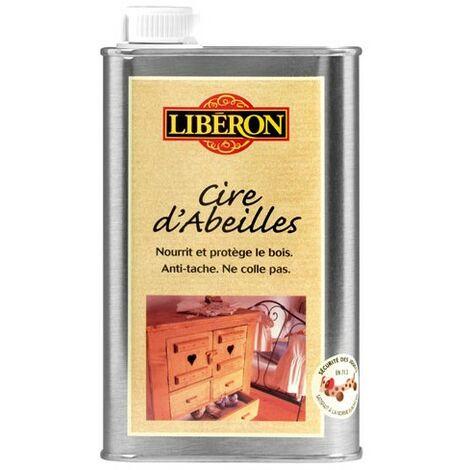 CIRE ABEILLES LIQ.0.5L LIB CHENE DORE (Vendu par 1)
