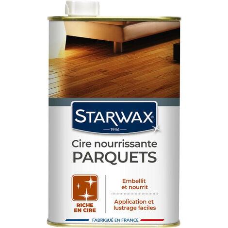 Cire concentrée incolore pour parquets cirés 1L STARWAX