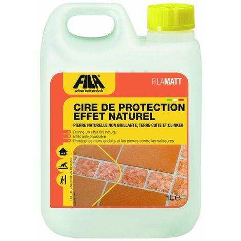 Cire de protection à effet naturel FILAMATT - Le Bidon de 1 Litre