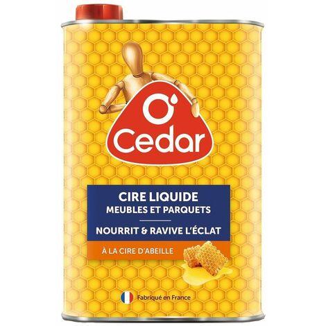 Cire liquide meubles et parquets bidon 750 ml - O CEDAR