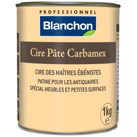 Cire pâte Carbamex® antic foncé 1kg