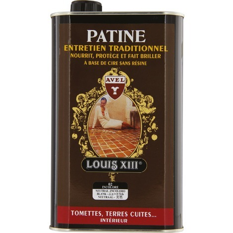 Cire Patine Tomettes LOUIS XIII