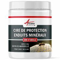 CIRE PROTECTION ENDUIT STUCCO - CIRE DE PROTECTION ENDUITS MINERAUX - ARCANE INDUSTRIES - Cire - 250 Gr
