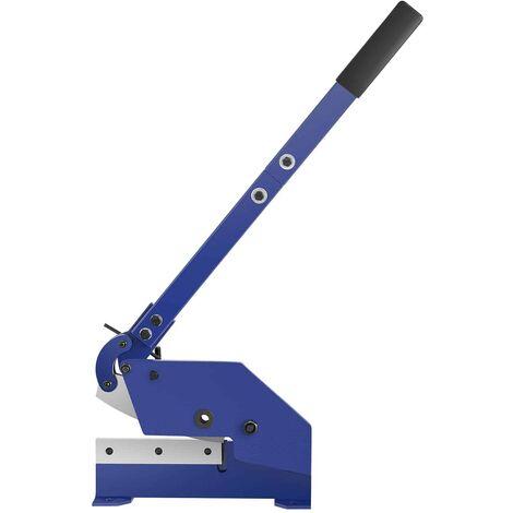 Cisaille à Levier Pour Tôle Manuelle MSW Tôles ≤ 6 mm Largeur utile: 180 mm Épaisseur Lame: 6 mm