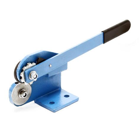 Cisaille à tôle à molette Épaisseur de 1,5 mm Cisaille manuelle à levier Découpe droite et arrondie