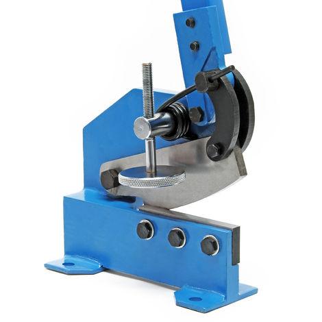 Cisaille de levier de 200 mm Découpe de tôle Métal Acier rond plat Machine manuelle Atelier