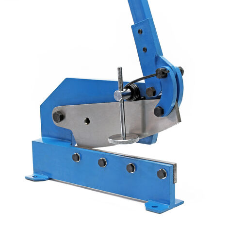 Cisaille de levier de 300 mm Découpe de tôle Métal Acier rond plat Machine manuelle Atelier