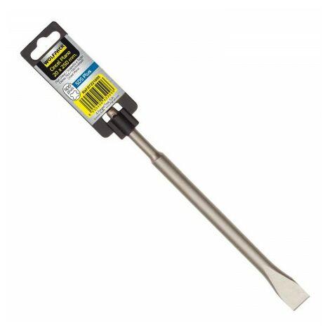 Ciseau marteau sds plus plan 20x250 mm.