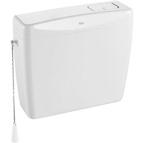 Cisterna alta/semi alta de plástico de doble descarga 6/3L - ROCA