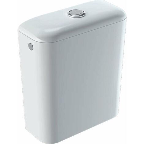 Cisterna de cerámica Geberit Icon, 6 l, entrada lateral, doble descarga 3l/6l, 229420, color: Blanco - 229420000