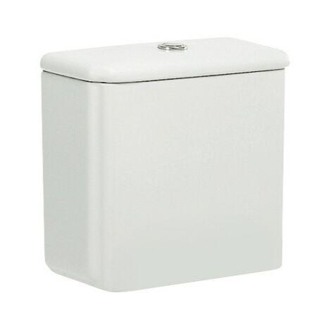 """main image of """"Cisterna de doble descarga 6/3L con alimentación inferior para inodoro DAMA RETRO - ROCA - Color: Blanco"""""""