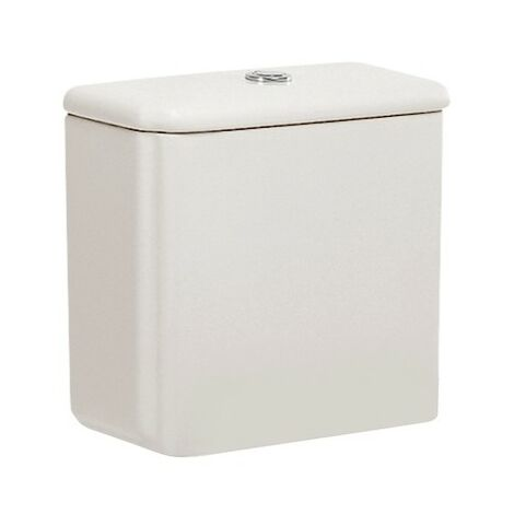 Cisterna de doble descarga 6/3L con alimentación inferior para inodoro DAMA RETRO - ROCA - Color: Pergamon