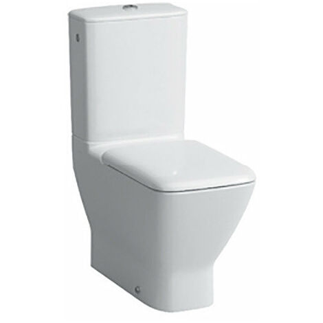 Cisterna del Palacio de Laufen 828702, conexión de agua lateral, blanco - H8287020008721