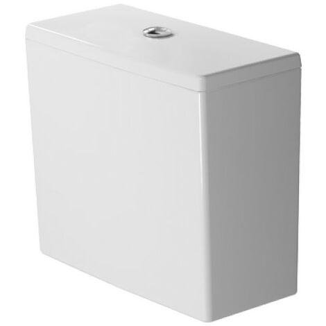 Cisterna Duravit ME de Starck, para conexión derecha o izquierda, con accesorios interiores Dual Flush, cromado, 6/3 L, 390 x 180mm, color: Blanco - 0938000005