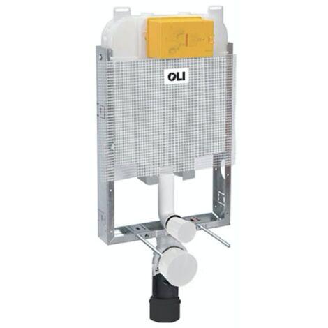 Cisterna empotrada de doble descarga para sanitarios suspendidos OLI74 Plus OL0601901   parte incorporada