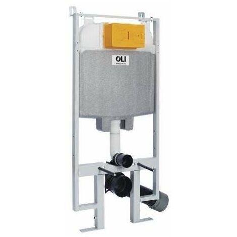 Cisterna empotrada doble descarga para paredes de cartón-yeso OLI74 Plus S80 Sanitarblock OL0601803   parte incorporada