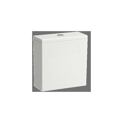 Cisterna Laufen Kartell para la combinación de WC autónomo 824331, doble descarga, conexión lateral de agua, color: Blanco - H8293320008721