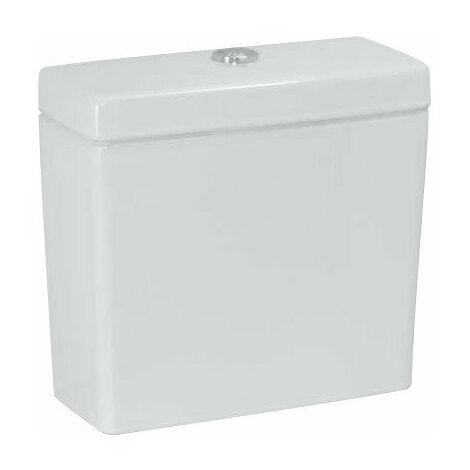 Cisterna Laufen PRO, 2 cisternas 826952, 6 L, conexión de agua en el lado, blanco, color: Blanco - H8269520008721