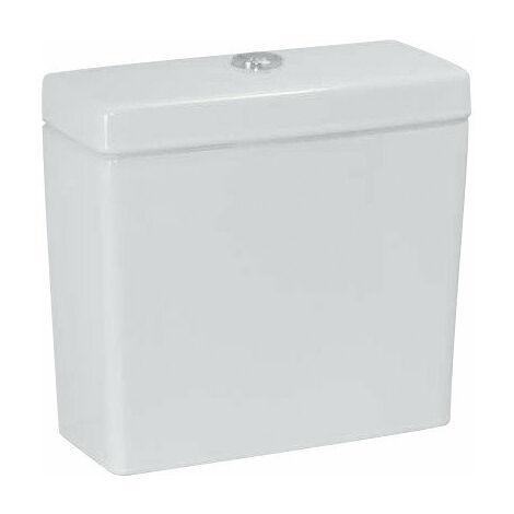 Cisterna Laufen PRO, 2 salidas de agua 826951, 6 L, conexión de agua trasera, blanco, color: Blanco - H8269510008711