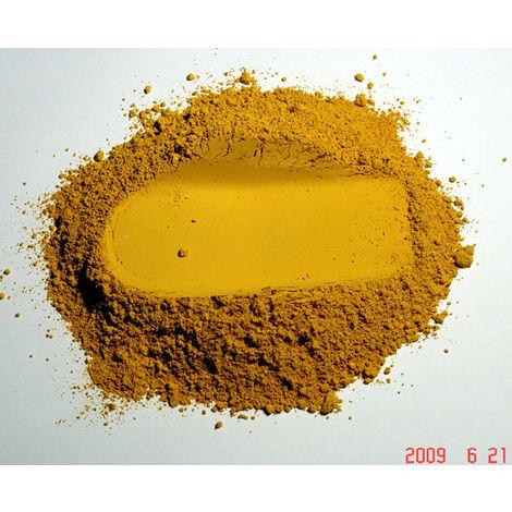 CITRON - 5KG - PIGMENT NATUREL POUR PEINTURE OCRE JAUNE CITRON À PARTIR DE 250G DOLCI - citron