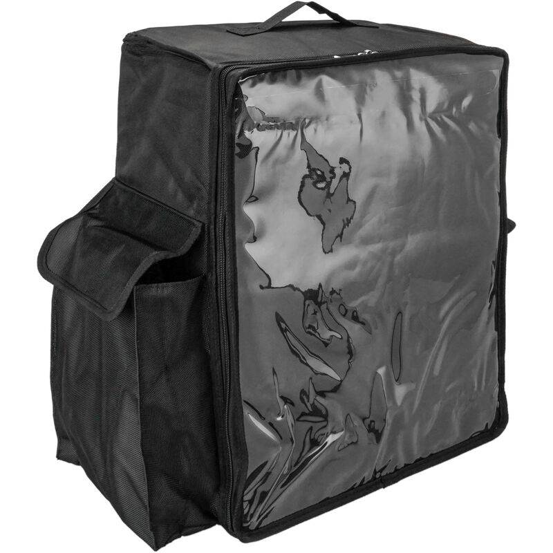 Image of Isothermal backpack 39 x 50 x 25 cm black for cookouts and food order delivery - Citybag