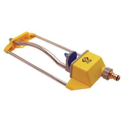 CK G7756BI Watering Systems Adjustable Oscilating Lawn Sprinkler