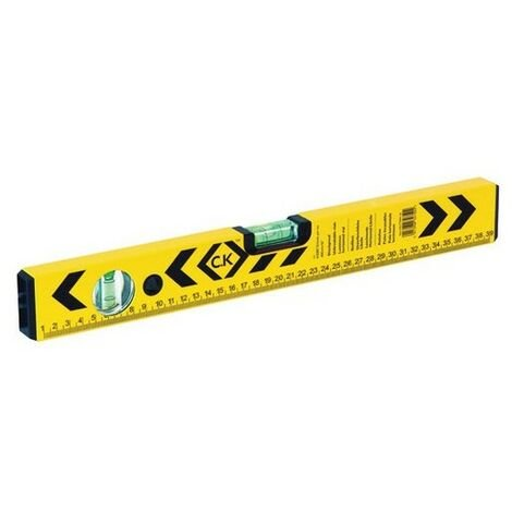 CK T3494 16 Spirit Level Aluminium Box Section 400mm With 2 Vial