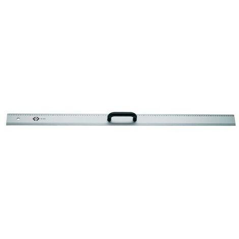 """CK T3531 100 Aluminium Straight Edge Marking Rule 1000mm / 40"""""""
