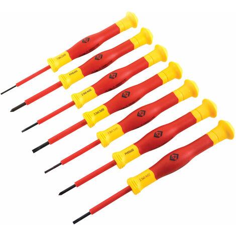CK Tools T4897 VDE Precision Screwdriver Set