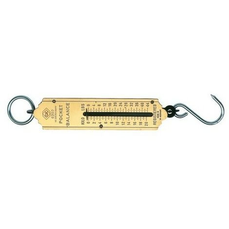 CK T6202 112 Pocket Balance Weighing Scale 50Kg / 112lb