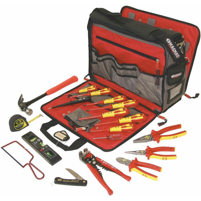 Image of C.k Tools - CK Tools 595003 Professional Premium Electricians Tool Kit