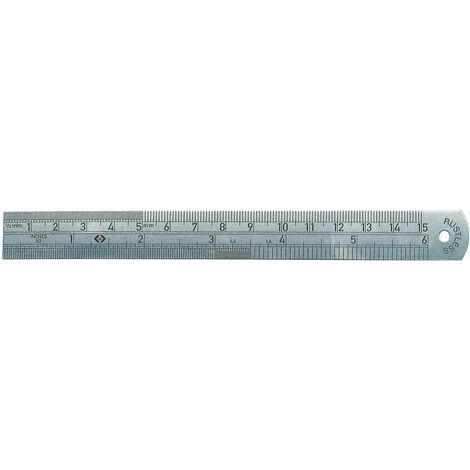 C.K Tools Stahllineal, metrisch/Zoll, 150 mm
