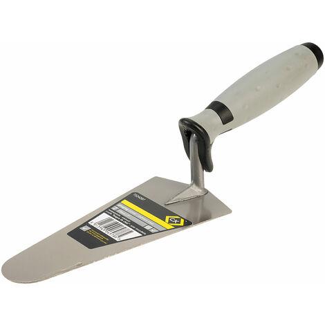 CK Tools T524207 Gauging Trowel Stainless Steel Soft Grip 180mm