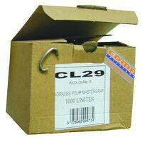 CL 29 ZAUNRINGE - Edelstahl AISI 304 - 100 Stk. - EDMA