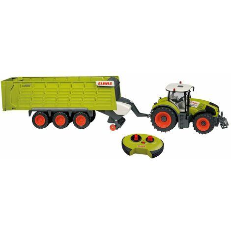 CLAAS Tracteur jouet avec remorque AXION870 et CARGOS9600 1:16