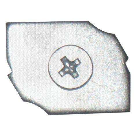 Clamot 251x18.9 mm + 2 vis ISEO pour serrure Performa - 990855