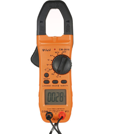 Clamp multimeter CM-2016 without battery delivery