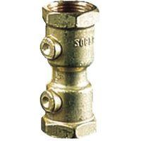 Clapet à ressort laiton eau FF Socla 15x21