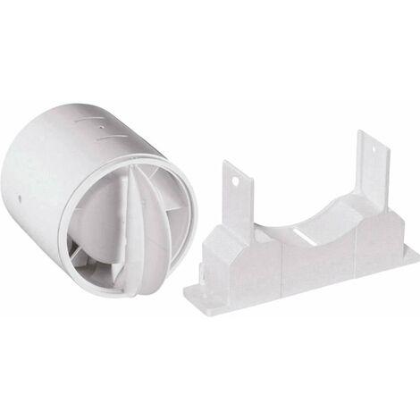 Clapet anti-refoulement Convient pour Ø de tube: 10 cm Wallair N40819 blanc