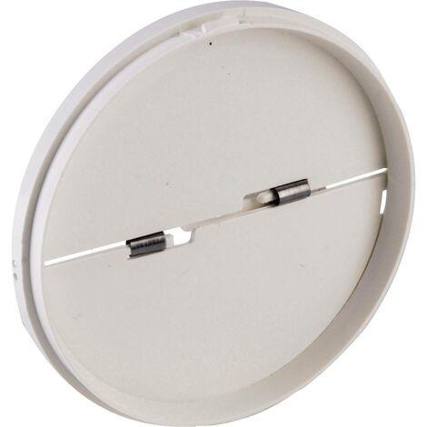 Clapet anti-refoulement Convient pour Ø de tube: 15 cm Wallair N40817 blanc S89381