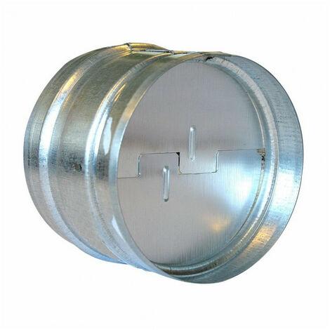 Clapet anti-retour alu 150 mm gaine de ventilation